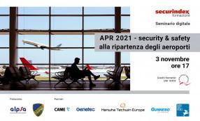 APR 2021 - security & safety alla ripartenza degli aeroporti - save the date