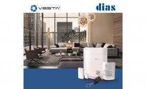 DIAS presenta la gamma VESTA: affidabilità e innovazione in una linea per la sicurezza e la domotica - Webinar 22 aprile