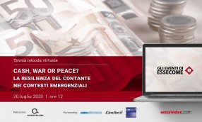 CASH, WAR OR PEACE? Webcast: La resilienza del contante nei contesti emergenziali