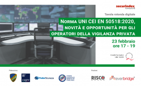 Norma UNI CEI EN 50518:2020, novità e opportunità per gli operatori della vigilanza. Il programma
