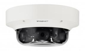 Nuova telecamera multisensore a 3 canali Wisenet, una soluzione per il monitoraggio agli angoli di edifici e corridoi