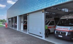 CAME Go: porte più veloci ed efficienti per l'uscita dei mezzi di soccorso a Scandiano