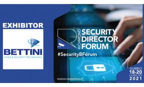 Bettini Srl al Richmond Director Security Forum