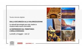 Le tecnologie per arte, teatro e musica nella nuova normalità. Le esperienze dal territorio: Emilia Romagna