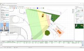 Integrazione della gamma di telecamere Wisenet con JVSG System Design Tool