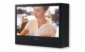 Hanwha Techwin presenta i Public View Monitors Wisenet con telecamera integrata