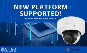 Le app di A.I. Tech basate su deep learning integrate a bordo delle telecamere Wisenet AI di Hanwha Techwin